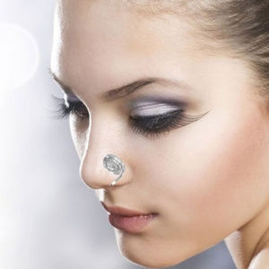 Jewelry - Nose Cuff 925 Sterling Silver NO Piercing Required